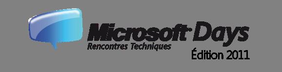 Logo Microsoft Days 2011