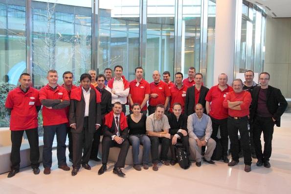 Les Journées SQL Server 2011, l'équipe de speakers et les organisateurs