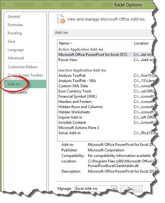 Présentation de Power View pour Excel 2013 (3/6)