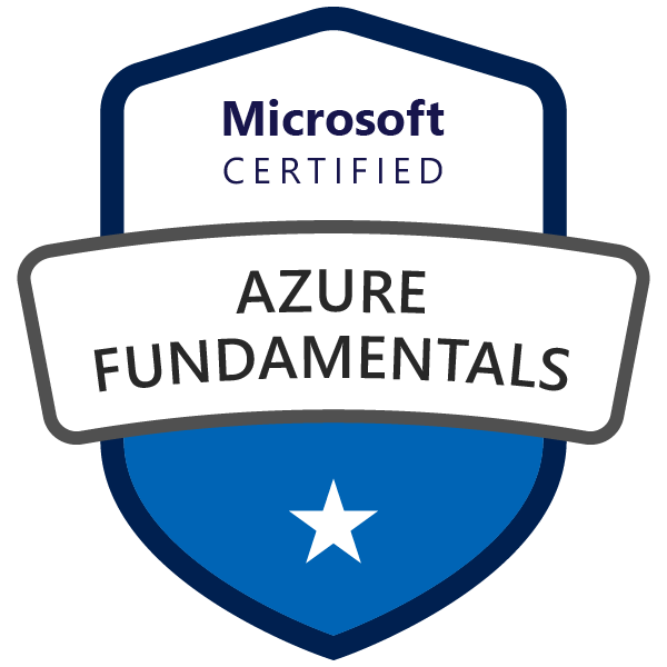 Microsoft Certified: Azure Fundamentals