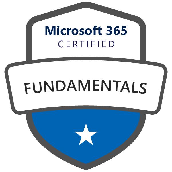 Microsoft 365 Certified: Fundamentals